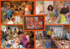 De blauwe appel schilderworkshops Schilderen met vrienden, familie of collega's