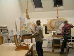 Workshops: Tekenen-Schilderen-Ontwerpen;Model/portrettekenen; Coaching