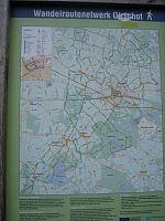Fietsroute door het platteland van Oirschot en De nieuwe wandelroutenetwerkkaart van Oirschot is uit.